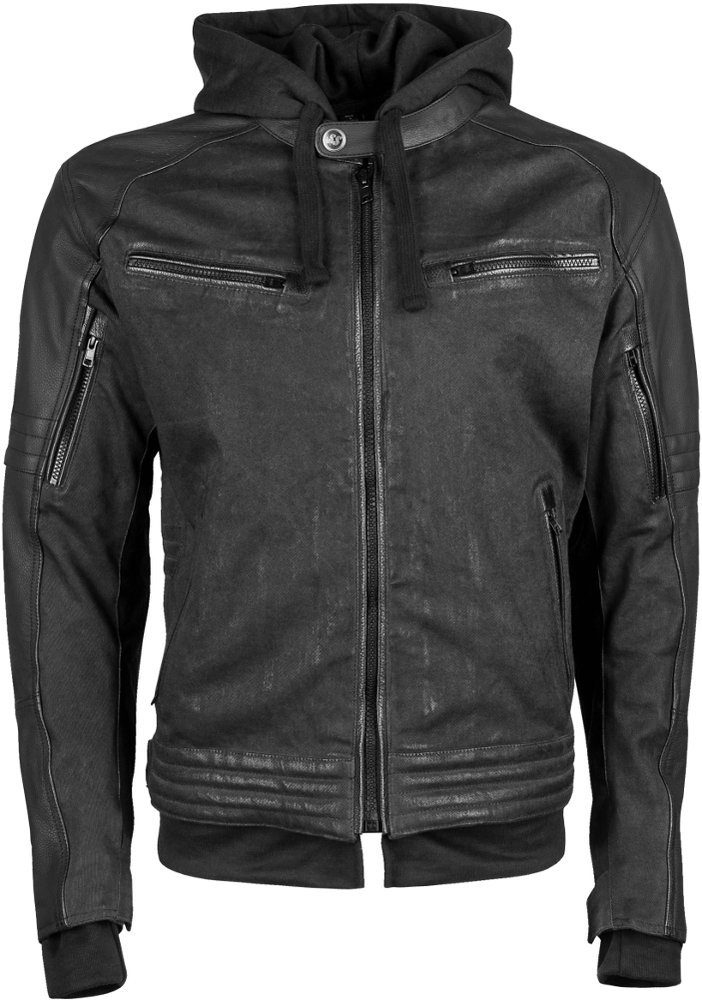 Men's black canvas jacket