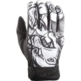 Fly Racing Mens Street Subvert Ink N Needle Gloves Black