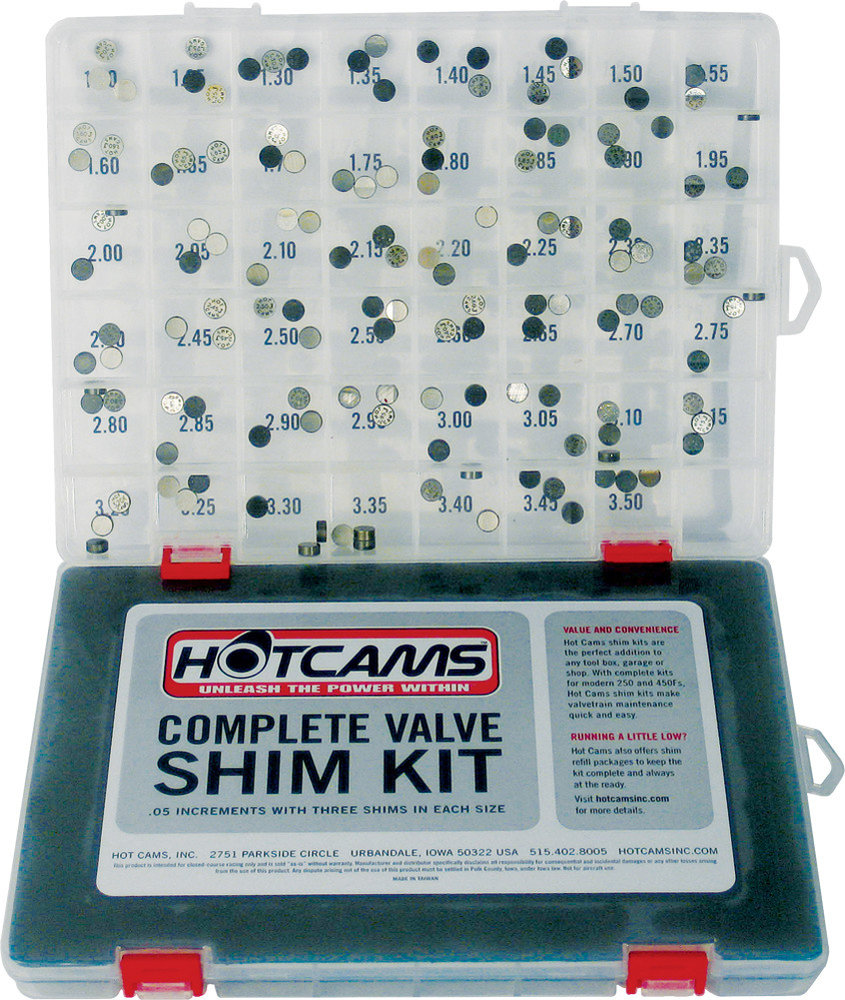 8995 Hot Cams Valve Shim Kit Honda Crf Kawasaki Klx 1086578 Wiring Harness Ratings Reviews