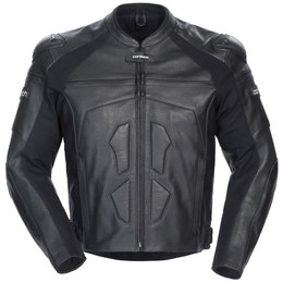 Black Cortech Adrenaline Leather Jacket