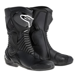 Black Alpinestars Mens S-mx 6 Waterproof Boots 2015 Us 3.5 Eu 36
