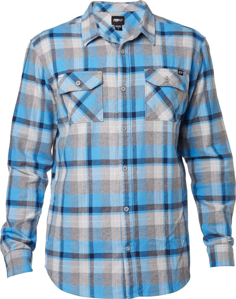 Fox Racing Mens Traildust Long Sleeve Flannel 994020