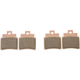 SBS ATV Off Road SI Sintered Rear Brake Pads Single Set Arctic Cat KYMCO 775SI Unpainted