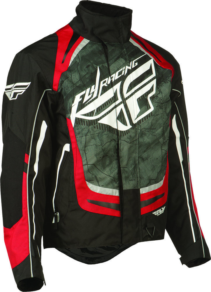 74 76 Fly Racing Mens Snx Pro Snow Jacket 2015 198871