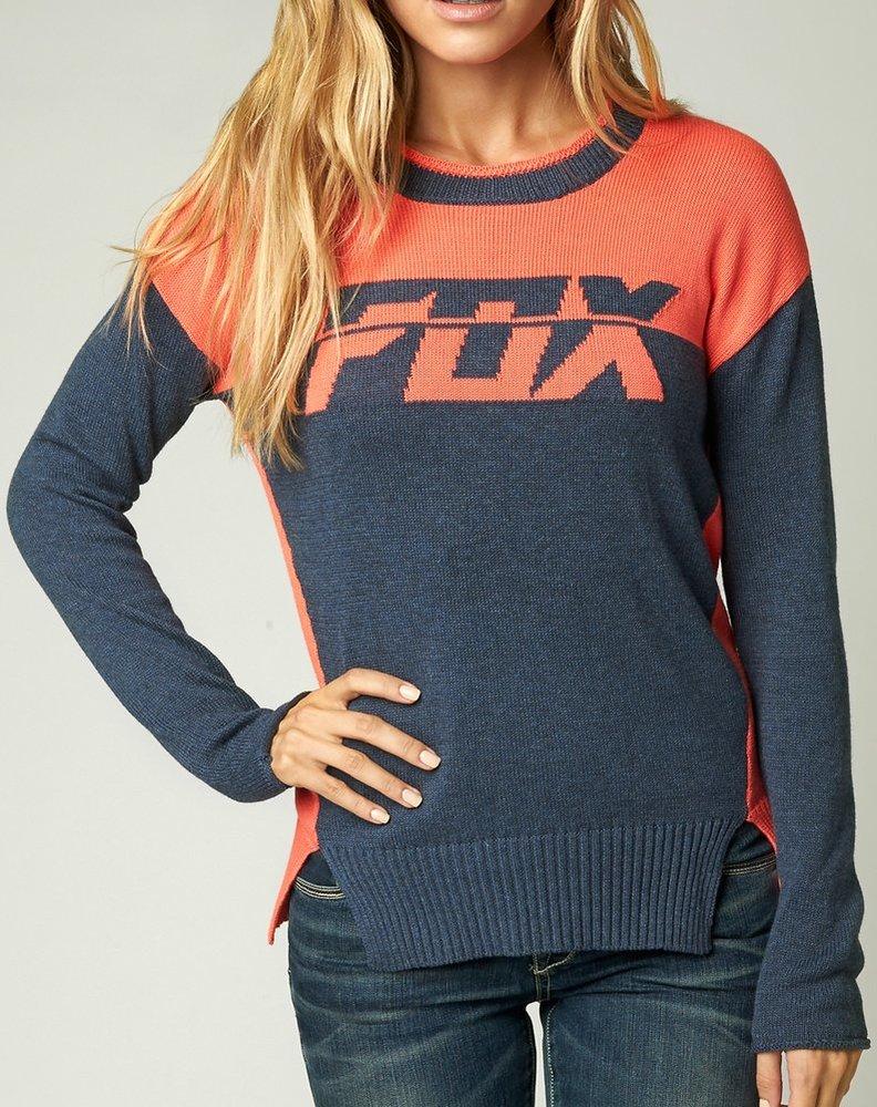 $59.50 Fox Racing Womens Identified Crew Neck Sweater #220605