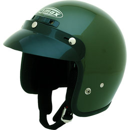 GMax GM2 Open Face Helmet Green