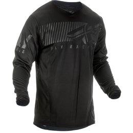 Fly Racing Mens Kinetic Shield Jersey Black