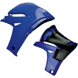 Cycra Powerflow Intake Radiator Shrouds Blue For Yamaha YZF450 2010-2012