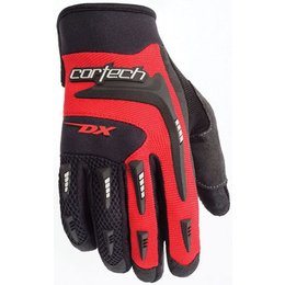 Red Cortech Youth Dx 2 Gloves