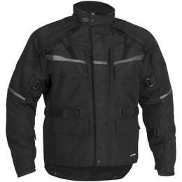 Black Firstgear Jaunt T2 Textile Jacket