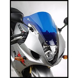 Zero Gravity Double Bubble Windscreen Dark Blue For Suzuki GSXR 1000 07-08