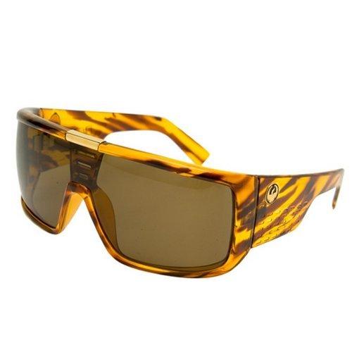 6f31f56eba4  79.35 Dragon Alliance Domo Sunglasses Green Stripe Grey 720-2027