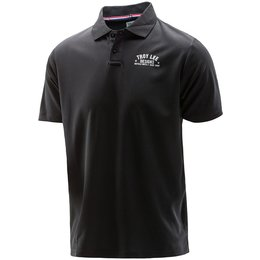 Troy Lee Designs Mens Formula Polyester Polo Shirt Black