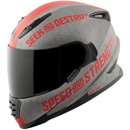Speed & Strength SS1600 Cruise Missile Full Face Helmet Grey