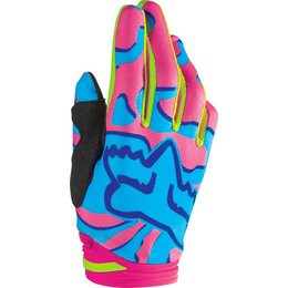 Fox Racing Womens Dirtpaw Mesh Gloves Pink