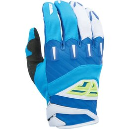 Fly Racing Youth Boys MX Offroad F-16 Riding Gloves Blue