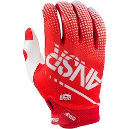 Answer Mens Syncron Air Ventilated MX Motocross Riding Gloves Red