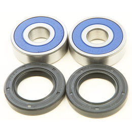 All Balls Racing Front Wheel Bearing And Seal Kit Honda Yamaha 25-1640 Unpainted