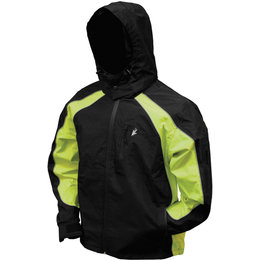 Frogg Toggs Mens Toadz Kikker II Reflective Rain Jacket Black
