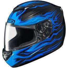 HJC CS-R2 Flame Block Full Face Motorcycle Helmet Blue