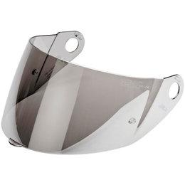 Metallic Silver Nolan Replacement Shield For N104 Modular Helmet -large
