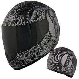 Speed & Strength Womens Six Speed Sisters Full Face Helmet Black