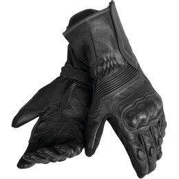 Dainese Mens Assen Leather Gloves Black