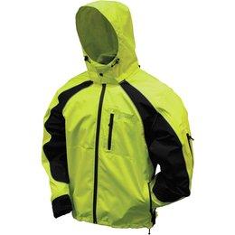 Frogg Toggs Mens Toadz Kikker II Reflective Rain Jacket Green