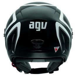 Black, White Agv Mens Blade Tab Open Face Helmet 2013 Black White