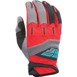 Fly Racing Youth Boys MX Offroad F-16 Riding Gloves Red