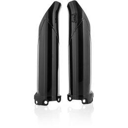 Acerbis Lower Fork Cover Set For Kawasaki KX250F KX450F Black 2403060001 Black