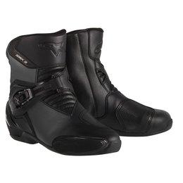 Black Alpinestars Mens S-mx 3 Boots 2015 Us 5 Eu 38