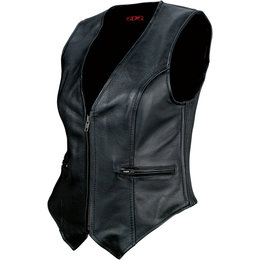Z1R Womens 44 Motorcycle Riding Vest Black