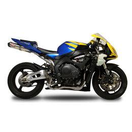 Carbon Fiber Sleeve Muffler & Carbon Fiber Tip Yoshimura Rs-5 Full Exhaust System Stainless Carbon For Honda Cbr1000rr 2004-07
