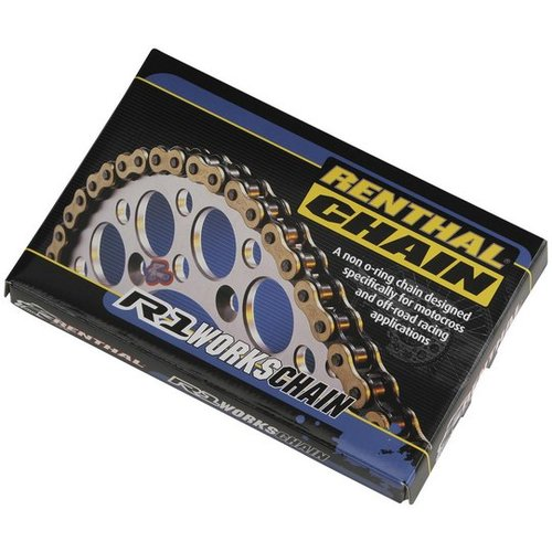Renthal 428 R1 Works Non O-Ring Offroad Chain 140 Link