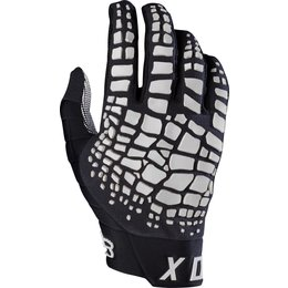 Fox Racing Mens MX 360 Grav Gloves Black