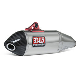 Stainless Steel Midpipe, Stainless Steel Muffler, Carbon Fiber End Cap Yoshimura Rs-4 Slip-on Muffler Stainless Carbon For Yamaha Wr250r Wr250x 2008-12