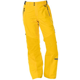 Divas Womens Prizm Waterproof Shell Technical Snowmobile Pants Yellow