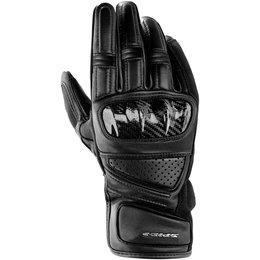 Spidi Sport Mens Hangar Leather Gloves Black