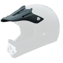 Scorpion VX-17 Replacement Visor Peak MX/Offroad Helmet Accessory Black