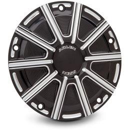 Arlen Ness 10-Gauge Derby Cover For Harley-Davidson FLT FLHTKL/CUL Black 03-340 Black