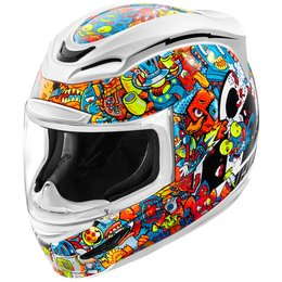 Icon Airmada Doodles Full Face Motorcycle Helmet