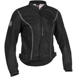 Black Firstgear Womens Contour Mesh Jacket