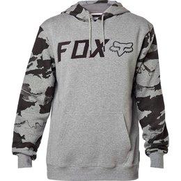 Fox Racing Diskors Pullover Hoody Grey