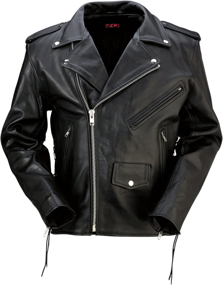 14995 Z1R Womens 9Mm Leather Motorcycle Riding Jacket -9729