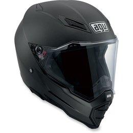 Flat Black Agv Mens Ax-8 Evo Naked Helmet 2013