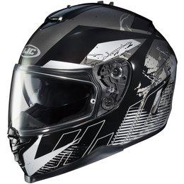 HJC IS-17 Blur Full Face Motorcycle Helmet With Pinlock Shield