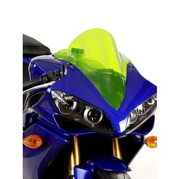 Zero Gravity Double Bubble Windscreen Yellow For Suzuki GSXR 1000 07-08