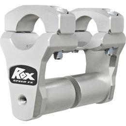 Rox Pivoting 2 Inch Motorcycle Handlebar Riser For Yamaha Silver 1R-P2PPS10A Silver
