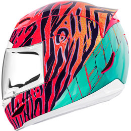 Icon Womens Airmada Wild Child Full Face Helmet Orange